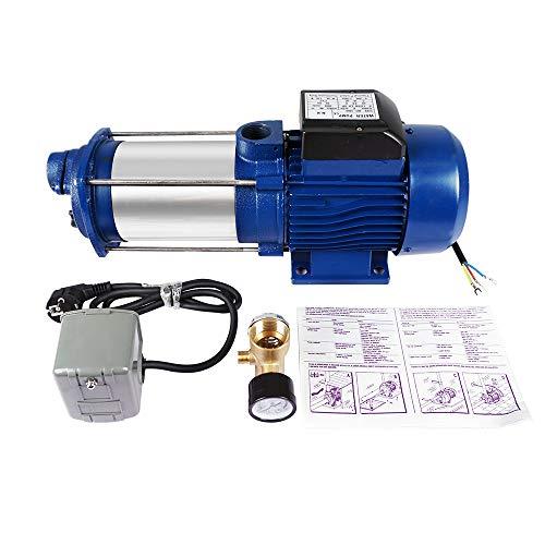 MC-1800 blue centrifugal water 2.6HP PUMP+50L pressure VESSEL booster